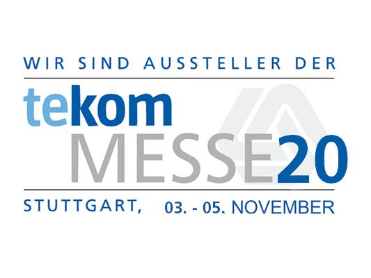 Logo der TeKom Messe 2020